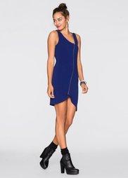 Трикотажное платье (ночная синь) Bonprix