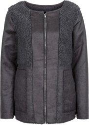 Куртка в дизайне под замшевую (светло-коричневый) Bonprix