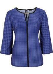 Блуза с принтом (черный/белый с узором) Bonprix