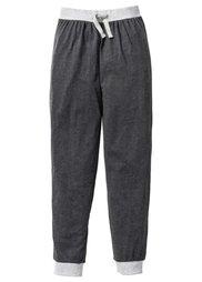 Пижамные брюки (2 шт.) (светло-серый меланж/антрацитов) Bonprix