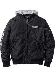 Куртка-бомбер Regular Fit (серебристый матовый) Bonprix