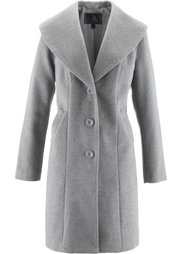 Шерстяное пальто (черный) Bonprix