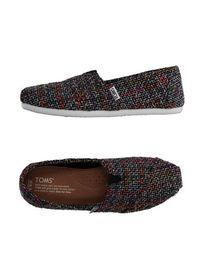 Низкие кеды и кроссовки Toms
