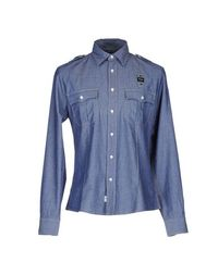 Джинсовая рубашка Blauer