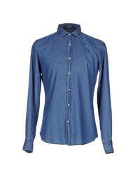 Джинсовая рубашка Himons