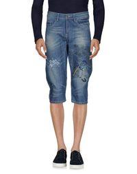 Джинсовые брюки-капри Roberto Cavalli Devils