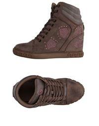 Высокие кеды и кроссовки Mercante DI Fiori