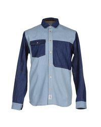Джинсовая рубашка Clwr Color Wear