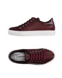 Низкие кеды и кроссовки Karl Lagerfeld