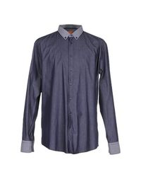 Джинсовая рубашка Boss Orange