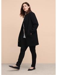 Пальто-oversize Violeta by Mango