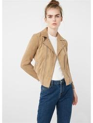 Кожаные куртки Mango