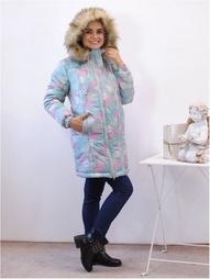 Стеганые пальто Адель