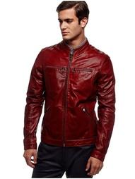 Кожаные куртки GUESS