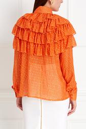 Хлопковая блузка Alexander Arutyunov