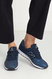 Кожаные кроссовки 373 New Balance
