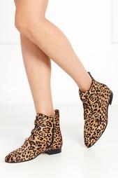 Ботинки из меха пони Marlin Jimmy Choo