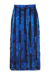 Шелковая юбка Atelier Kikala Sinaze