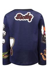 Свитшот с вышивкой Dolce&Gabbana Children