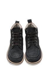 Замшевые ботинки Hans Bonpoint