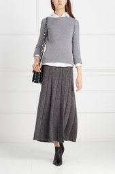 Шерстяная юбка Stefanel