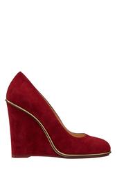 Замшевые туфли Carmen Charlotte Olympia