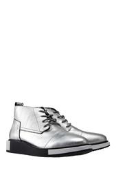 Ботинки из металлизированной кожи Geo Desert United Nude