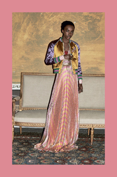 Платье с люрексом Gucci