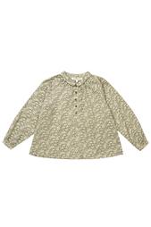 Хлопковая блузка Moss Caramel