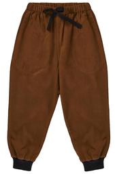 Хлопковые брюки Topaz Caramel