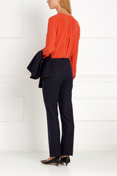 Шерстяные брюки Tamea Hugo Boss