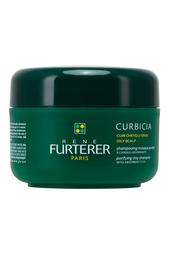 Очищающий шампунь-маска для жирной кожи головы Curbicia 200ml Rene Furterer