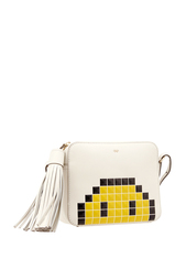 Кожаная сумка Pixel Smiley Anya Hindmarch