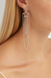 Серьги с кристаллами Lisa Smith