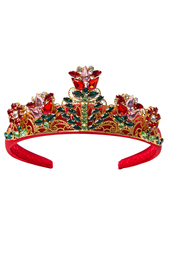 Диадема с кристаллами Dolce&Gabbana Children
