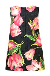 Платье с принтом Dolce&Gabbana Children