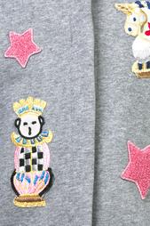 Кардиган с нашивками Dolce&Gabbana Children