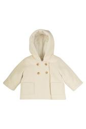 Двубортное пальто Misha Bonpoint