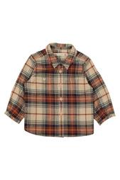 Хлопковая рубашка Mico Bonpoint
