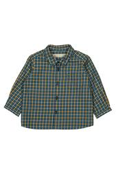 Хлопковая рубашка Malo Bonpoint