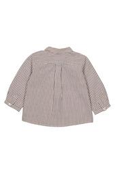 Рубашка в полоску Malo Bonpoint
