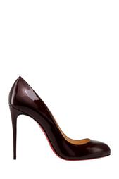 Туфли из лакированной кожи Dorissima 100 Christian Louboutin