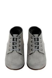 Замшевые ботинки Bonpoint