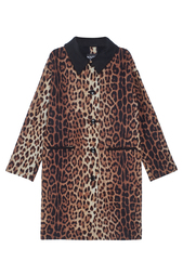 Шерстяное пальто Boutique Moschino