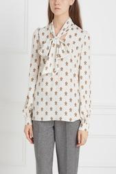 Шелковая блузка A LA Russe