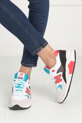 Кожаные кроссовки 580 New Balance
