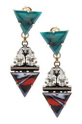 Серьги с кристаллами Anton Heunis