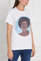 Хлопковая футболка Mulattogirl Candyshop