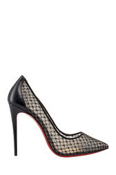 Туфли с кружевом Follies Lace 100 Christian Louboutin