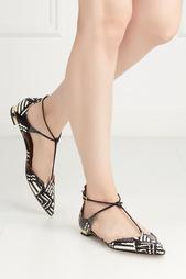 Кожаные туфли Scarlet Aquazzura